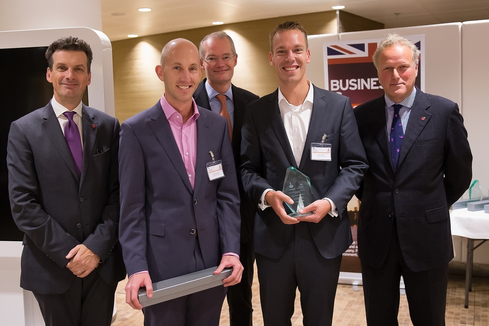 Garden Connect wins UKTI Investment Award