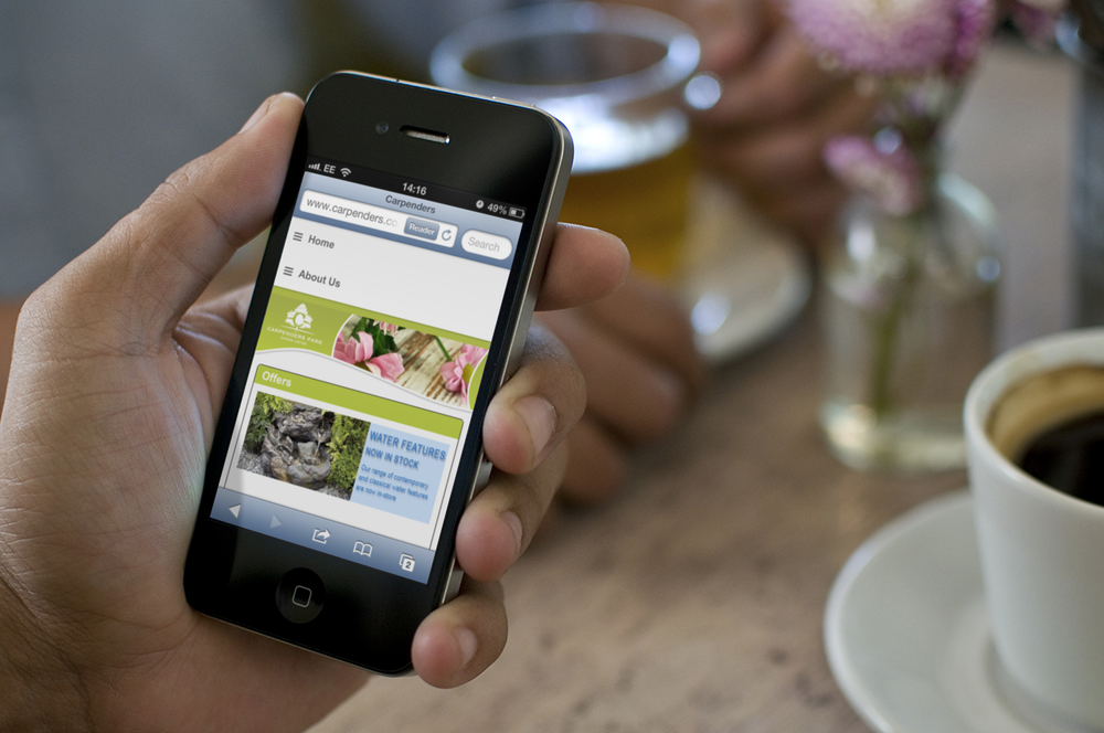 Websites that are responsive to smartphones and tablets.