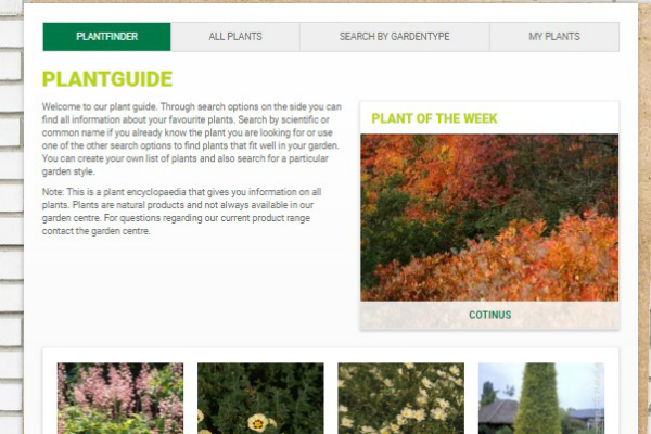 Garden Connect Launches New Plant Finder