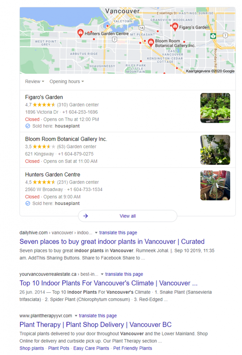 Local SEO explained by Garden Connect
