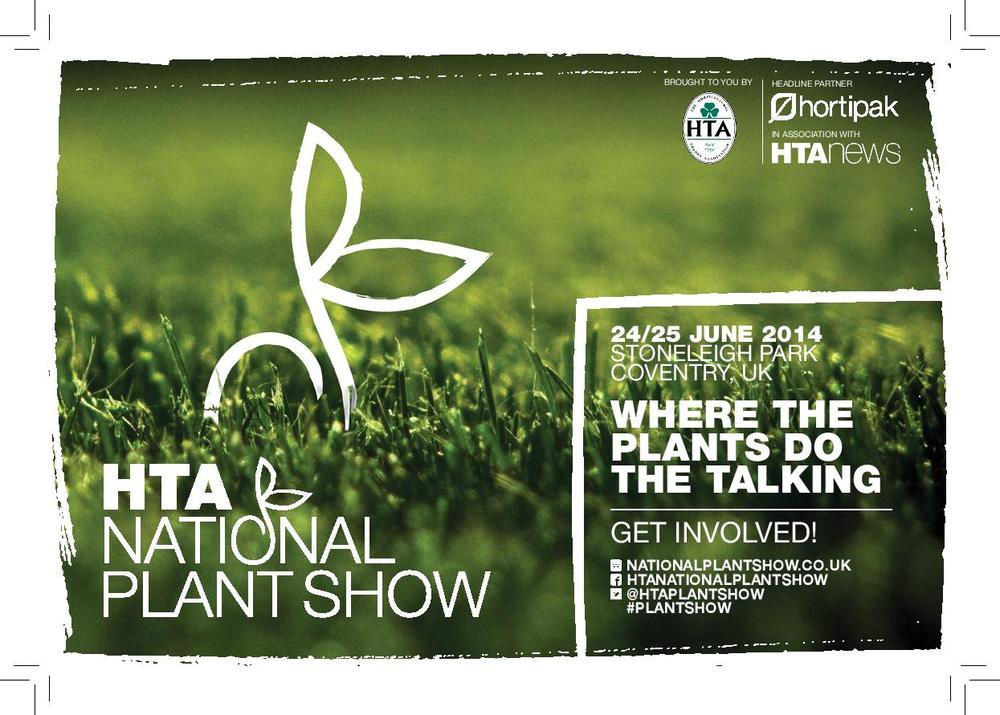 Meet us at the HTA Plant Show 2014