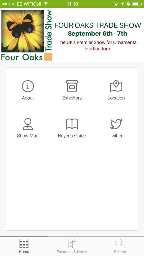 Garden Connect launches Four Oaks Trade Show App