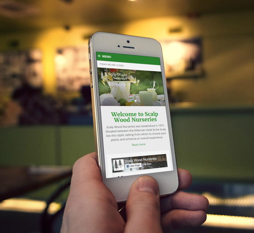 The world is mobile, but is your garden centre?