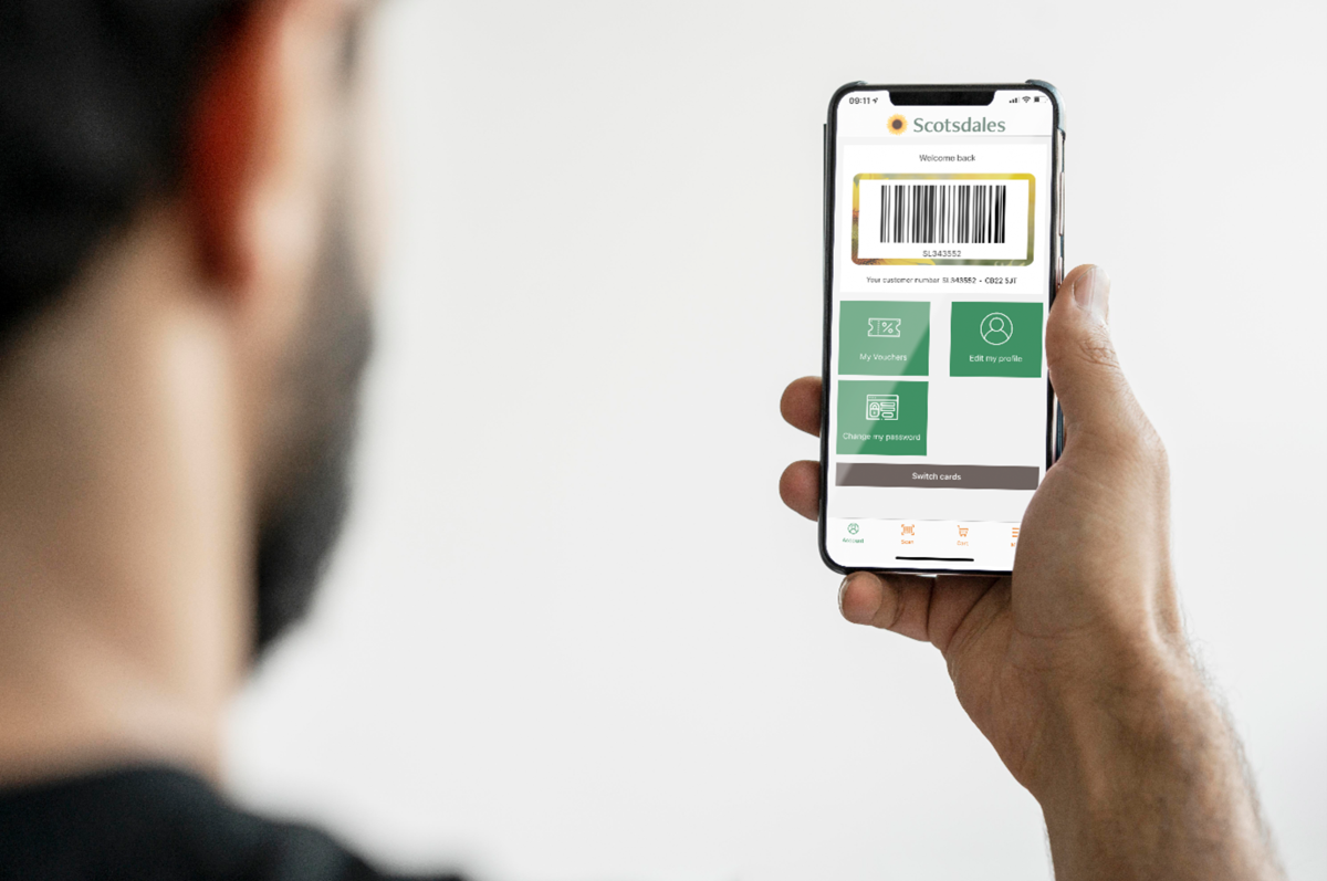 Scotsdales launches Scan & Go Loyalty App
