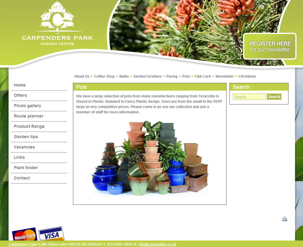 Is your garden centre website up to date?